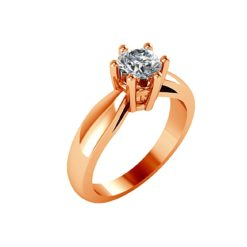 joya anillo compromiso rose